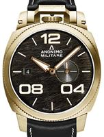ANONIMO BRONZE BLACK SCRATCHED DIAL