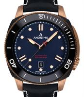 ANONIMO NAUTILO BRONZE AND DLC BLUE