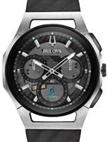 BULOVA CURV CHRONO BLACK TRANSPARENT