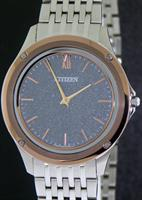 CITIZEN WORLD`S THINNEST SOLAR WATCH