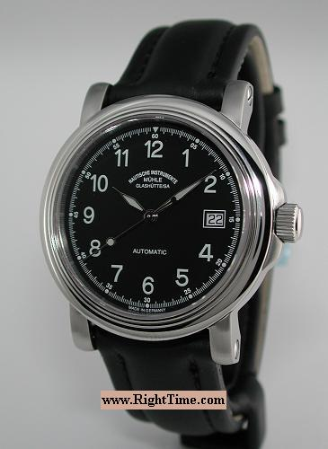 City automatic xiii m1 24 13lb muhle glashutte city automatic wrist watch for Muhle watches