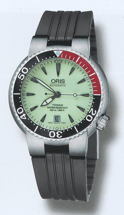 Oris Divers Titanium 733 7562 70 59 Rs Oris Divers Wrist