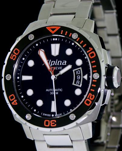 Orange Extreme Diver On Metal Allbovb Alpina Extreme Diver - Alpina diver