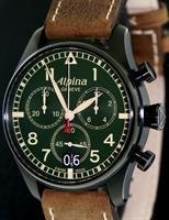 ALPINA BLACK & GREEN CHRONOGRAPH