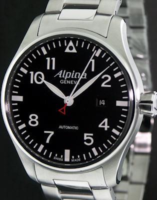 Pilot Automatic Limited Edt Albsb Alpina Startimer Wrist Watch - Alpina automatic watch