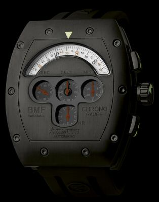 Azimuth Watches CGM-PVD-401B