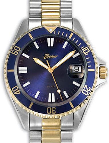 divers 2 tone blue a9304t belair diver