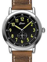 Belair Watches A4186W/S-BLK/BRN