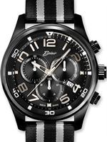 Belair Watches A9835BK-SIL