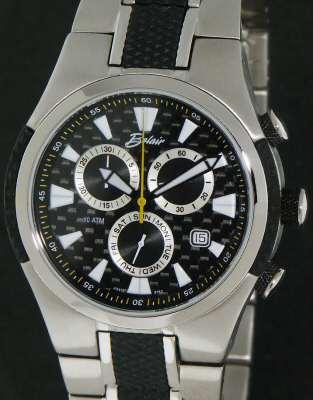 carbon fiber dial chronograph a9912b belair men sport wrist watch click