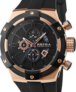 34680677efe 43mm Black Rose Gold Chrono brssc4302 - Brera Orologi Super Sportivo wrist  watch. Sorry