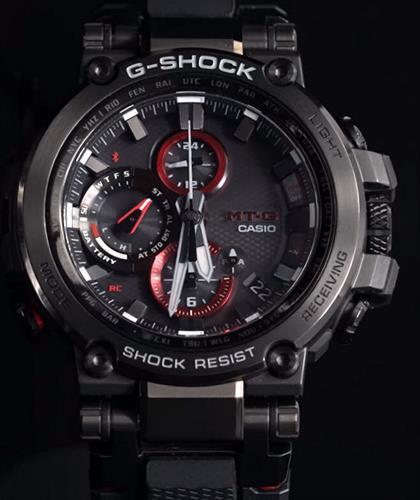 d8bdf7da1ec7 Mt-G Connected Black Red mtgb1000b-1a - Casio G-Shock wrist watch