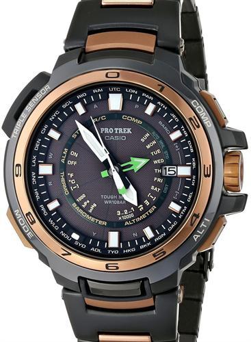 Protrek Titanium Solar Atomic prx7001gf-1 - Casio Protrek wrist watch 7fbf777fbd55