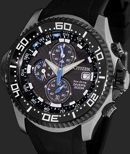 Professional Diver Bj2115 07e Citizen Aqualand Wrist Watch