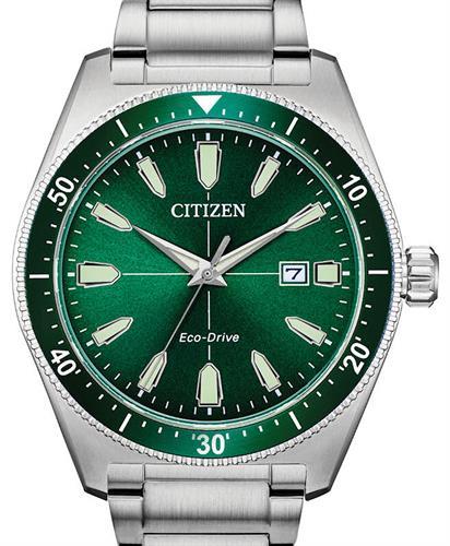 Citizen Aw1598 70x Everyday Sport Brycen Green Dial