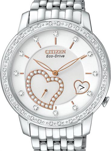 desire open heart ev100058a citizen ladies wrist watch