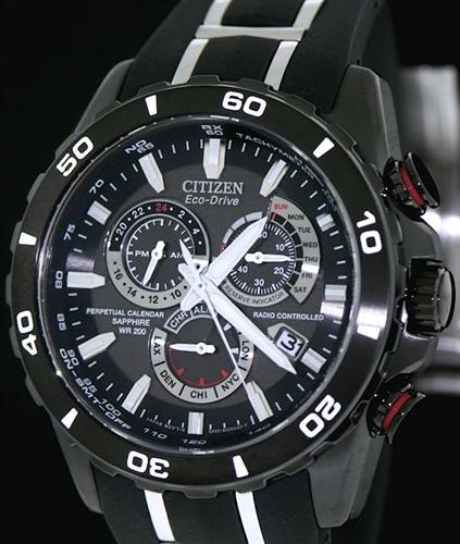 Atomic Chronograph Limited At4027 06e Citizen Atomicradio