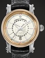 Cuervo Y Sobrinos Watches 3052.5WGMT