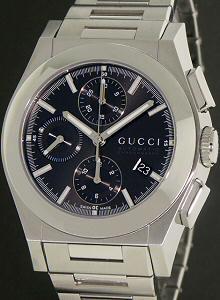 3812525100b Pantheon Black Chrono ya115205 - Gucci Pantheon wrist watch