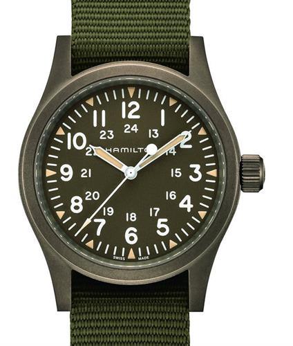 Khaki Mechanical Field H69449961 Hamilton Khaki Wrist Watch