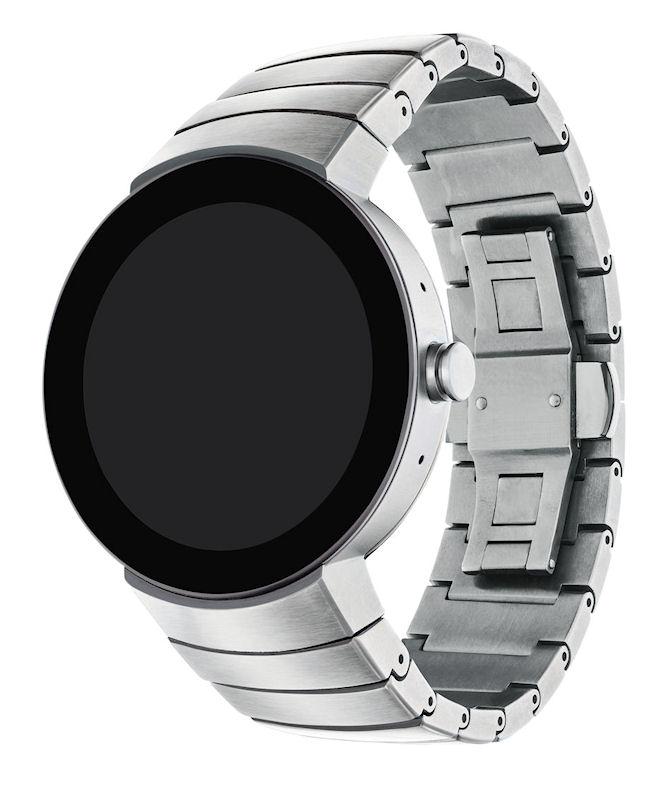 Movado 3660017 Mens Connect Smartwatch Black Steel