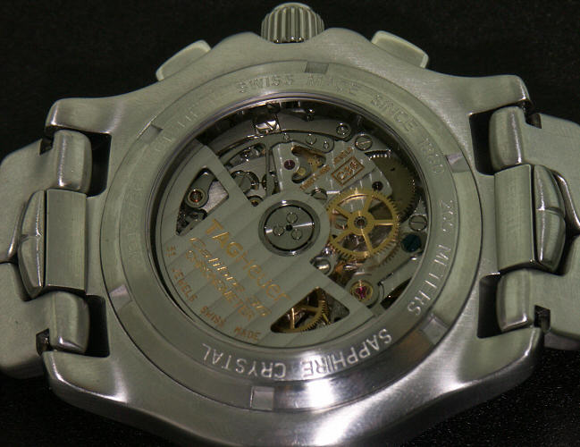 Tag Heuer Link Calibre 36 Fast Beet Auto ct511b - Pre