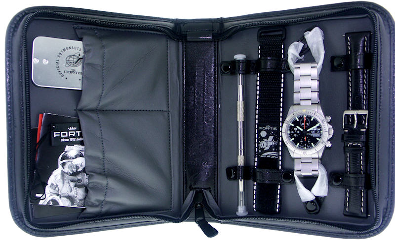 Fortis Cosmonaut Chronograph Set 631 22 31m - Pre-Owned Mens