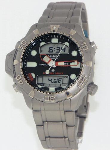 Citizen titanium band 59 h0396 citizen diver bands - Citizen titanium dive watch ...