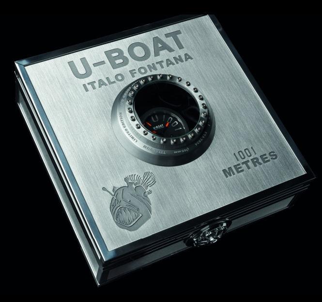 1001m Titanium Orange 5868 - U-Boat Classico wrist watch