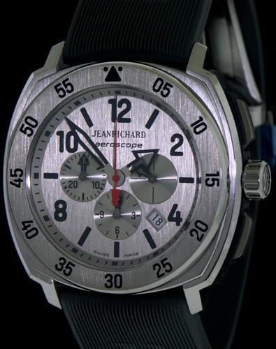 Titanium Case Chronograph 6065 21g211 Fk2a Jeanrichard