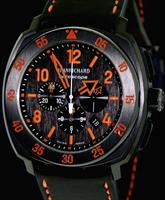 JEANRICHARD DLC TITANIUM CASE BLK & ORANGE