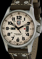 Pre-Owned LUMINOX FIELD DAY-DATE IVORY DIAL