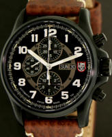 LUMINOX BLACK VALJOUX CHRONOGRAPH
