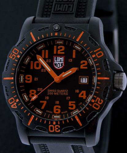 f69fa2e9ecd Black Ops Black   Orange a.8819.gg - Luminox Us Navy Seal wrist watch
