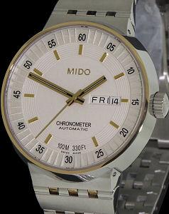 All Dial White Chronometer m83409b111