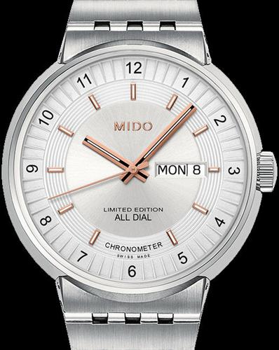 All Dial Cosc Steel White Dial m8340.4.12.1