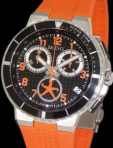 Os Sport Chrono Orange M0026171705201 Mido Ocean Star