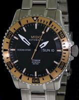 MIDO TITANIUM AND ROSE GOLD DIVER