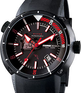 Momodesign Watches MD1007BK-01BK-RB