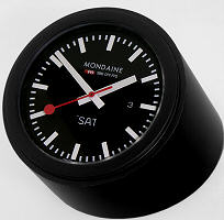 Mondaine Clocks A667.TUBE.60SBB