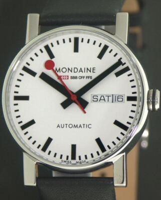 Official Railways Automatic A132 30348 11sbb Mondaine