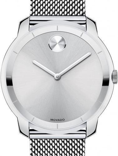 67bd2c3ada65b Bold 36mm Silver Mesh Band 3600241 - Movado Bold wrist watch