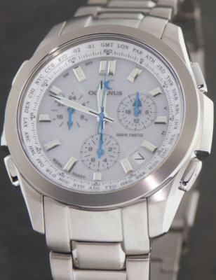 5a02f590974 Oceanus Titanium Solar Atomic ocw600tda-7av - Oceanus Atomic-Solar wrist  watch. Sorry