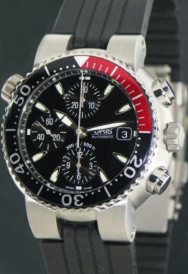 Tt1 Titanium Chronograph 01 674 7542 7154 Rb Oris Divers
