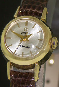 Pre-Owned OMEGA LADYMATIC 18KT GOLD