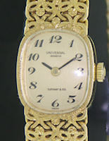 Pre-Owned UNIVERSAL GENEVE 18KT SOLID GOLD FINE FILIGREE