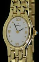 Pre-Owned MOVADO 14KT SOLID GOLD CASE AND BAND