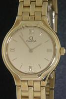 Pre-Owned OMEGA DEVILLE 18KT GOLD CASE/BAND