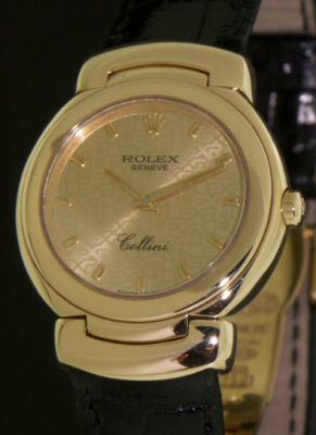 Pre-Owned ROLEX 18KT YELLOW GOLD CELLINI
