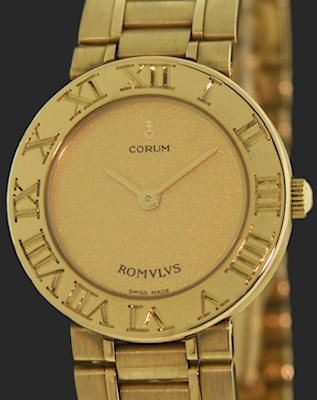 Pre-Owned CORUM 18KT SOLID GOLD ROMVLVS